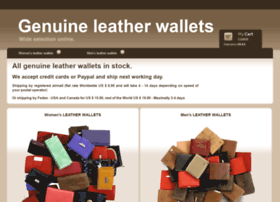 genuine-leather-wallets.com
