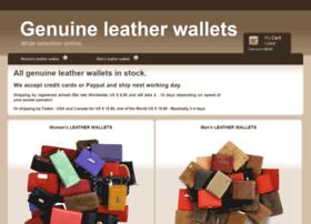 genuine-leather-wallets.com