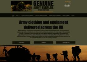 genuinearmysurplus.co.uk