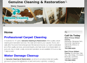 genuinecleaning.com