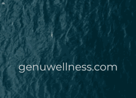 genuwellness.com