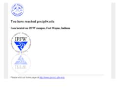geo.ipfw.edu
