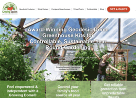 geodesic-greenhouse-kits.com