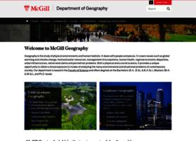 geog.mcgill.ca