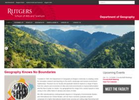 geography.rutgers.edu