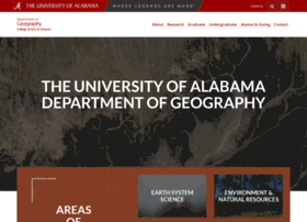 geography.ua.edu