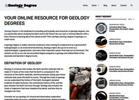geologydegree.org