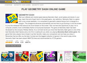 geometry-dash.flashgamesplayer.com