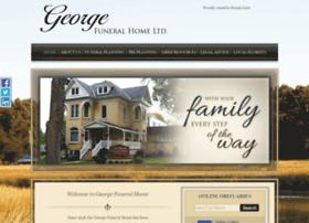 georgefuneralhome.com