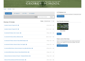 georgeschool.libguides.com