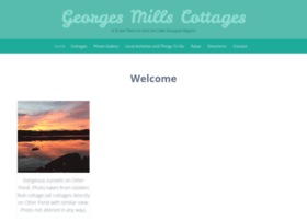 georgesmillscottages.com