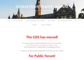 georgetowndebate.org