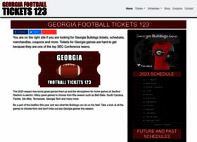 Georgiafootballtickets123.com