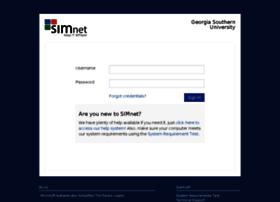 georgiasouthern.simnetonline.com