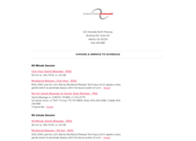 georgiasportsmassage1.schedulista.com