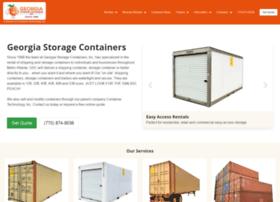 georgiastoragecontainers.com