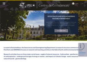 geosciences.mines-paristech.fr