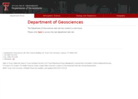 geosciences.ttu.edu