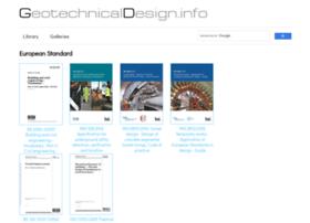 geotechnicaldesign.info
