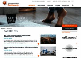 geothermie.de
