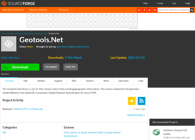 geotoolsnet.sourceforge.net
