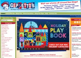geppettostoys.com