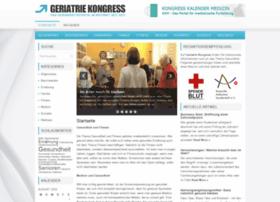 geriatriekongress2012.de