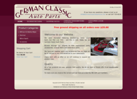 germanclassicautoparts.com