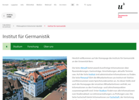 germanistik.unibe.ch