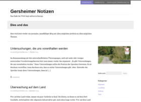 gersheimer-notizen.de