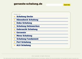gerueste-schalung.de
