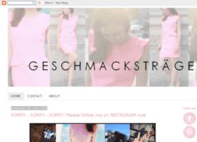 geschmackstraegerin.blogspot.com