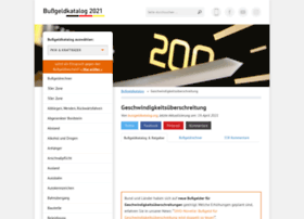 geschwindigkeitsueberschreitung.net