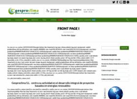 gesproclima.com