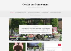 gestes-environnement.fr