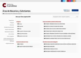 gestion.fundacioncarolina.es
