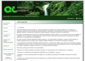 gestionintegraldereciclajes.com