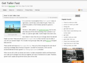get-taller-fast.com