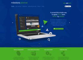 get.milestoneplanner.com