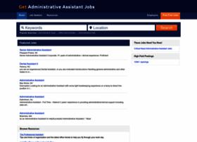 getadministrativeassistantjobs.com