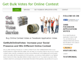 getbulkonlinevotes.com