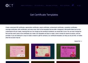 getcertificatetemplates.com