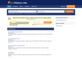 Getchildcarejobs.com