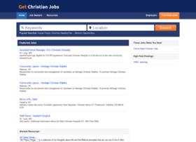 getchristianjobs.com