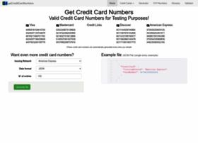 getcreditcardnumbers.com