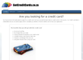 getcreditcards.co.za