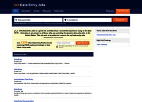 Getdataentryjobs.com