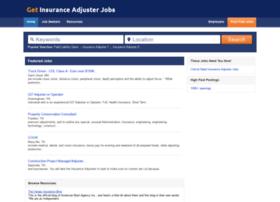 getinsuranceadjusterjobs.com
