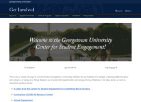 getinvolved.georgetown.edu