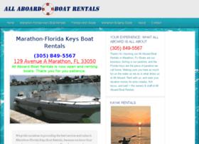 getmarathonboatrentals.com